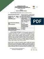 Anexo 1 Formato de Informe Tecnico