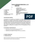 Planificacion de La Unidades Didacticas 3 y 4 Bimestre -3-4to