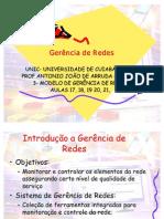 UNIDADE 3 PARTE 1 -  MODELOS DE GERÊNCIA DE REDES