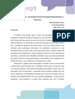 Descobrindo o Outro - Um Projeto de Aula de Língua Portuguesa Para o Sexto Ano
