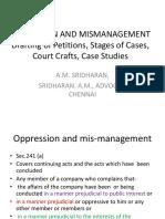 AM Sridharan IBC Seminar-Oppression