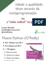 Fluent Python Pt