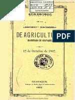 Estatutos Sociedad Nacional de Agricultura