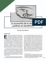 La Economia de La Droga Quienes Se Benefician 1997