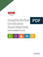 Compt i a Pen Testexam Objectives 0123181516724407214
