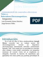 Relevadores Electromecánicos