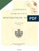Bals Gheorghe - Bisericile Moldovenesti in Secolul Al XVI-lea (BCMI)