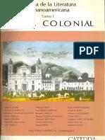 """1.-Walter Mignolo, """"Cartas, Crónicas y Relaciones Del Descubrimiento y La Conquista"""""""