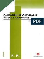 Animación de Actividades Fisícas