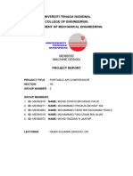 Machine Design Project Report UNITEN