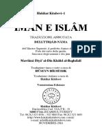 Ebook - Italian - Islam - Iman E Islam - TRADUZIONE ANNOTATA - DELL'IʻTIQÂD-NÂMA - dell'illustre Sapiente, il perfetto Amico di Allah - Mawlânâ Diyâ' al-Dîn Khâlid al-Baghdâdî.pdf