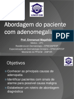 Abordagem Do Paciente Com Adenomegalia