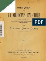 Historia Medicina en Chile