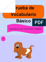 VOCABULARIO BASICO
