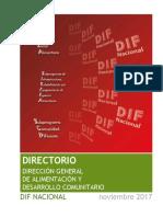 Directorio DGADC Nov. 2017