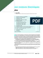 AYEL Jean - Lubrifiants Pour Moteurs Thermiques - Normes Generales