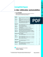 DEGOBERT Paul - Pollution Atmospherique Reglementation Des Vehicules Automob