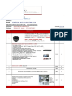 Cotizacion Kit de Camaras y Sensores