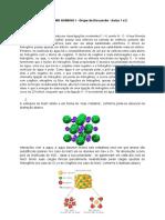 METABOLISMO HUMANO I - Grupo de Discussão - Aulas 1 e 2 - Documentos Google