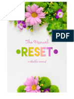 The Manual Reset - A Ritual for Cleansing