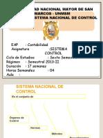 Semana 1 - SNC y La Contraloría - OCI - SOA