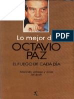 Octavio Paz - El Fuego de Cada Dia