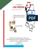 Sistema de Costeo Empresa j&l , Final, 2
