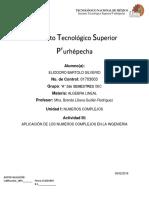 Aplicacion de Los Numero Complejos en La Ingenieria