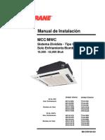 Trane Manual de Instalación (Español)