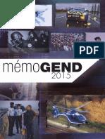 Mémo Gendarmerie 2015