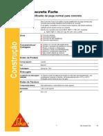Catalogo_Aditivo_ Sika Concreto Forte