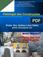 Patologia Aula 01a - Introdução