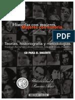 Historias con mujeres. Mujeres con Historia. Mirta Lobato