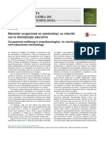 Bienestar Ocupacional en Anestesistas_ Su Relación Con La Metodología Educativa