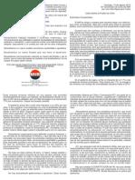 Carta Abierta Al Pueblo de Chile - Diptico
