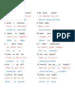 Classroom Language Basic 1