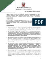 Res N.° 0078-2018-JNE, Reglamento sobre Propaganda Electoral, Publicidad Estatal y Neutralidad en Periodo Electoral