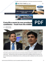 Costa Rica Meets Its New Presidential Candidates – Fresh From the Middle of the Pack – the Tico Times _ Costa Rica News _ Travel _ Real Estate