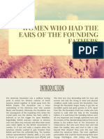 Women Who Had the Ears of the Founding Fathers