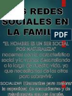 Redes Sociales en La Familia