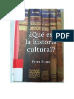 Qué Es La Historia Cultural Peter Burke