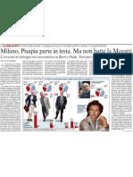 Milano, Pisapia parte in testa. Ma non batte la Moratti