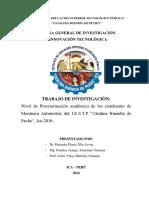 Tesis - Procrastinacion Academica