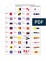 flags and morse code