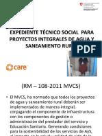 02 Expediente Técnico Social Para Proyectos Integrales de Agua