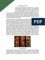 La Historia Del Teatro