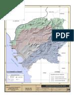 Mapa Cuencas de La Provincia Del Santa