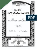 Szymanowski Mazurkas.pdf