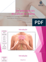 Aspectos psicológicos do Cancêr de mama 2