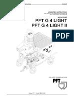Betriebsanleitung Pft g4 Light